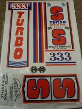 SS JUMBO Retro Cricket Bat Stickers 1 FULL SET
