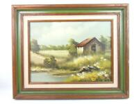 Signs Of Spring Oil Painting On Canvas By Artist Named Smith Framed