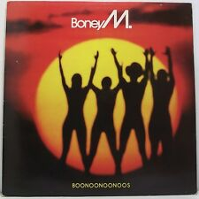 BONEY M Boonoonoonoos LP Album with Inner 33rpm Vinyl VG+