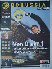 Programm 2004/05 Borussia Dortmund - SC Freiburg