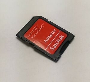 Brand New Original SanDisk Micro SD SDHC Card Adapter