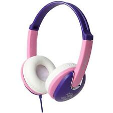 Groov-e GV591VP Kidz DJ Style Headphone with 85dB Volume Limiter - Pink/Violet