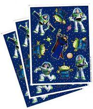 3 Sheets Disney BUZZ Lightyear ZURG Aliens Space Ranger Scrapbook Stickers!