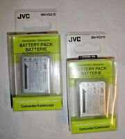 2X Genuine OEM JVC BN-VG212 BN-VG212U BN-VG212US Batteries for GZ-V500 GZ-V505