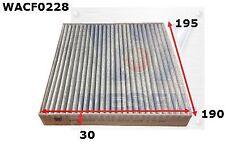 Cabin Filter for Jaguar XF 3.0L V6 2008-on WACF0228