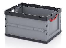 2er Set Faltbox ohne Deckel Auer Faltboxen Kunststoffkisten Box Boxen Stapelbox