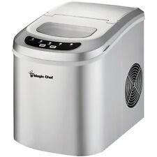 Magic Chef Mcim22Sv Portable Countertop Ice Maker, 27 Pounds Per Day, Silver