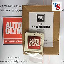BOX of 50 Autoglym Air Fresheners Car (FRUITY SCENT Long Lasting ORIGINAL SEAL)