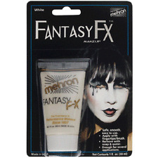 White Mehron Fantasy FX Water Based Paint Body Face Stage Cream Makeup