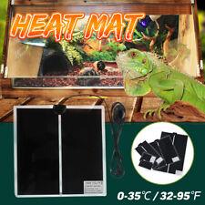 New ListingSandbox Reptile Heat Mat Turtles Lizards Pet Heating Warm Pads Temp Uk Uk! Us1