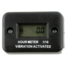 Waterproof Vibration Hour Meter For Motorcycle Atv Snowmobile Boat Gas Engine Us
