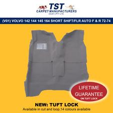 MOULDED CAR CARPETS (V01) VOLVO 142 144 145 164 SHORT SHIFT/FLR AUTO F & R 72-74