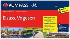KOMPASS-Fahrradführer, Band 6901 - Elsass, Vogesen - Spiralbindung