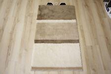 Tappeto da bagno Mali beige 60x100 cm