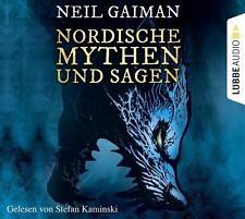 + Gaiman Neil : Nordische Mythen und Sagen CD HörBuch NEU Lesung Stefan Kaminski