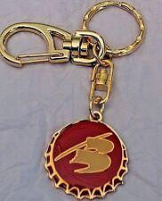 Banks Barbados Beer  KEY RING Key Chain Beer of Barbados Caribbean