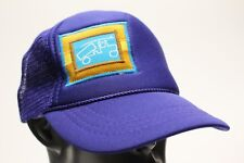 BIG TRUCK - BLUE - ONE SIZE - ADJUSTABLE SNAPBACK BALL CAP HAT!