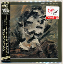 Japan - Oil On Canvas / David Sylvian / Japan Mini LP SHM CD / NEW! Sold out!