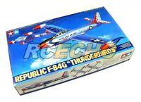 Tamiya Aircraft Model 1/48 Airplane Republic F-84G Thunderbirds Hobby 61077