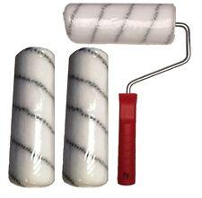 3 Stk. Polyamidrolle+Bügel für 2K-Epoxidharz Bodenbeschichtung Epoxy Grundierung
