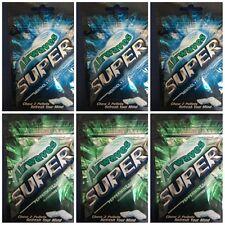 Wrigley's Airwaves Super Peppermint x 3 & Menthol x 3 (25g) total 6 packs