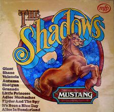 SHADOWS - Mustang - 1972 12 Track Vinyl LP Album