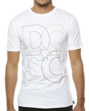 Camiseta DC blanco logo bordes - XL - PVP 32 € - nueva - autentica - T-shirt