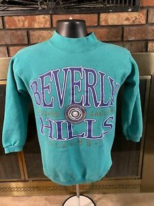 Vintage 1992 Beverly Hills University Jaguars USA Crewneck Sweatshirt One Size