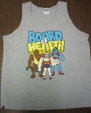 BURTON snowboard 2012 promotional BOARD OF HEALTH tank top MED New Old Stock