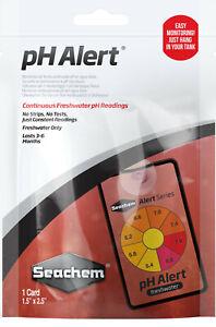 Seachem Laboratories pH Alert 6 Month Monitor 1ea/1 Card, 1.5 In X 2.5 in