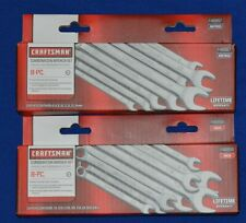 Craftsman New 16 PC SAE and Metric Combination Wrench Set 46858,46867 (ts163)