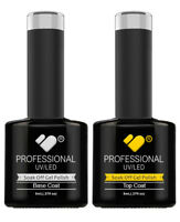 VB™ Line Top and Base coat - nail gel polish professional UV/LED - Mega Sale!