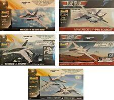 Revell 1/72 1/48 Top Gun Maverick Movie New Plastic Model Kit Hornet Tomcat
