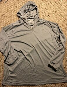 Russell Athletic Mens BIG & TALL 3XL 54-56 Hooded Activewear Shirt Long Sleeve
