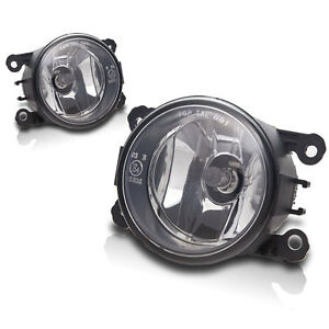 2011-2014 Acura TSX Replacements Fog Lights Front Driving Lamps - Clear