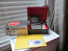 Leica Boxes  Lot of Fifteen (15) includes Unused R4 Case!
