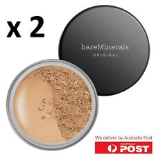 id bare minerals x 2 escentuals BareMinerals Medium Beige (N20) 8g ORIGINAL