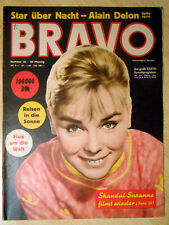 Bravo 35/1958 zum 60. Geburtstag - Alain Delon, Freddy Quinn - TOP