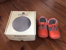 EUC Rileyroos Baby Shoes Orange Size 18-24 Mths Size 7 - 7.5