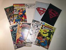 Superman Comics Lot - #75 Superman Death #500 Superman Revival Wedding Album
