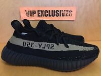 size 40 c8cad 18f1d Adidas Yeezy 350 V2 Boost SPLY Kanye West Black Green Olive BY9611 IN HAND