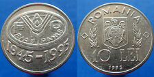 10 Lei 1995 F.A.O. Commemorative UNC Coin Romania Low Shipping! Combine FREE!