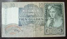 10 Gulden Nederland 1941 in gebruikte staat