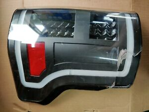 Anzo15 16 17 Ford F150 F-150 Pickup Black LED Tail Lights Lamps LH