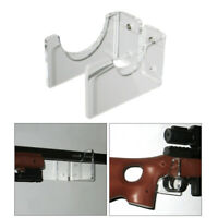 3 Pairs Toy Rifle Holder Rifles Wall Mount Display Stand Rack Hooks Hanger