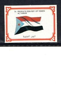 EARLY YEMEN FLAG CIGARETTE CARD