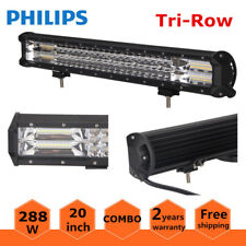 7D Tri-Row 20inch 288W LED Light Bar Spot Flood Car Boat Ford Offroad VS 126W