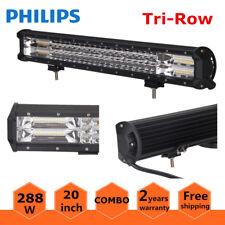 7D Tri-Row 20inch 288W LED Light Bar Spot Flood Car Boat Ford Offroad VS 126W