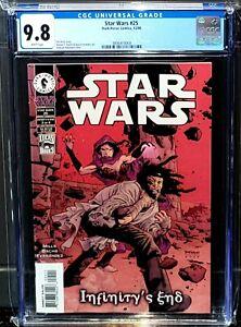 Star Wars #25 CGC 9.8  Dark Horse 2001  Infinitys End