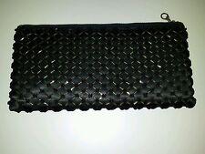Antique / Vintage Black Beaded Evening Bag / Purse